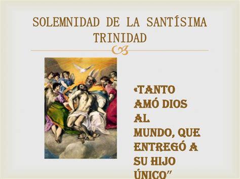 su unico hijo letras 8437609003 domingo 18 junio solemnidad de la sant 237 sima trinidad