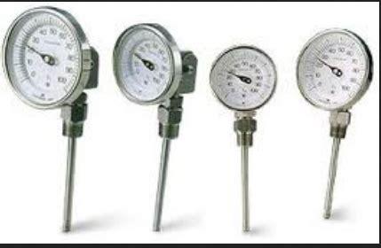 Termometer Bimetal jenis fungsi dan cara kerja termometer zat padat