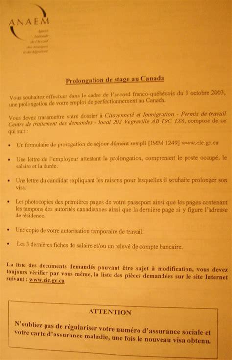 Lettre Demande De Prolongation Wonderbox Canada Permis Jp Renouveler Permis Jeunes Professionnels