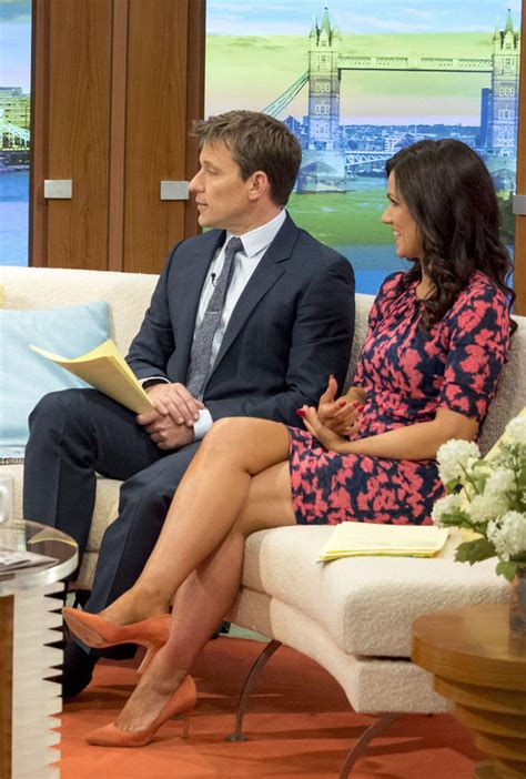 susanna reid flashes legs in tight dress on good morning