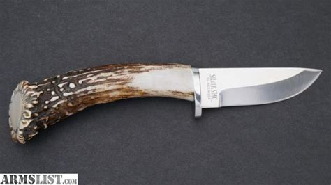 sharp knives for sale armslist for sale new silver stag sharp forest knife d2 steel