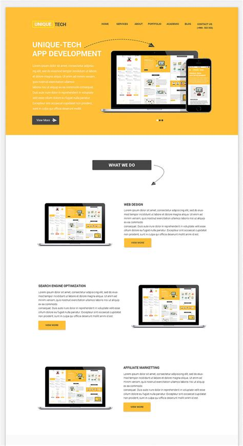 Clean And Beautiful Free Corporate Psd Website Template Psd Website Templates Free 2017