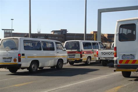Find In Sa Which Major City In South Africa Has The Worst Minibus Taxi Drivers Check Here And
