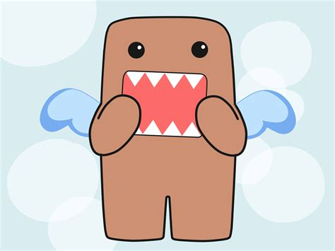 draw domo  steps  pictures wikihow