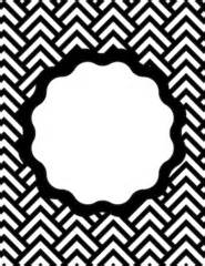 Black and white binder covers for pinterest