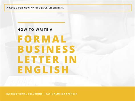 business letter writing language and tone how to write a business letter in