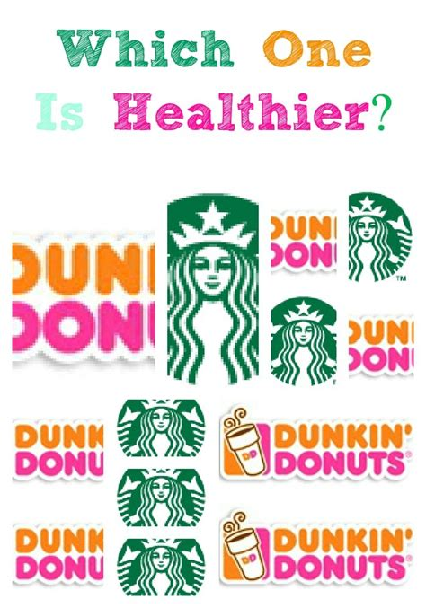 how to get better at dunking comparing the nutritional value of starbucks and dunkin
