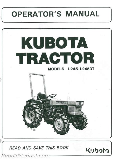 wiring diagram for kubota b2920 tractor kubota l2500