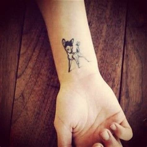 bambi wrist tattoo 118 best images on ideas