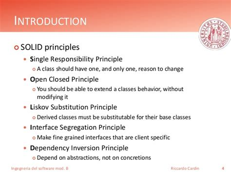 object oriented design principles solid principles of object oriented design
