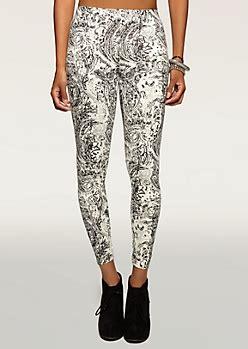 rue 21 patterned leggings girls printed patterned color leggings rue21
