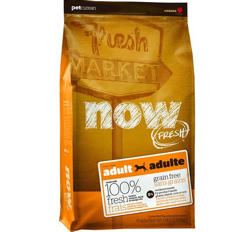 now fresh food petcurean now fresh food 6 lb healthypets
