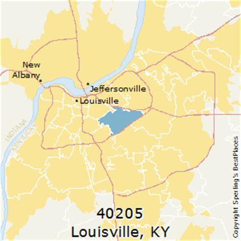 louisville zip code map best places to live in louisville zip 40205 kentucky