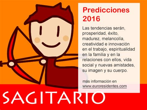 el horoscopo 2016 horscopos in hor 243 scopo sagitario 2016