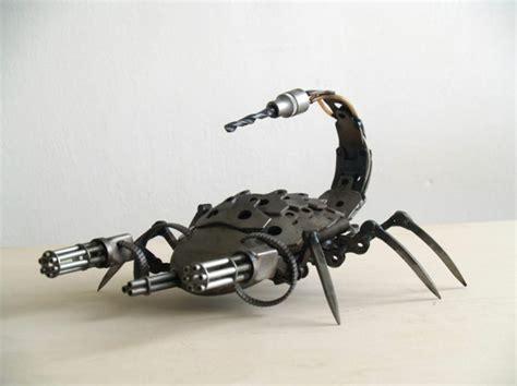 Motorradteile Gebraucht by Gebrauchte Motorradteile Ausgefallene Skulpturen Im