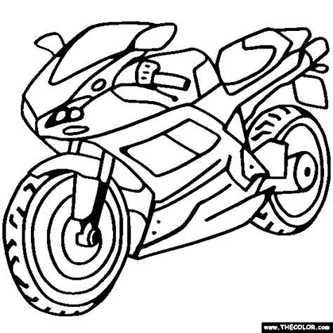 coloring pages of a motorcycle motorcycles motocross dirt bike online coloring pages