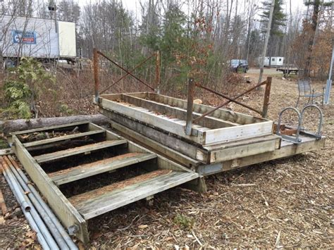 boat docks for sale near me used docks in maine maine used docks sold by dockguys