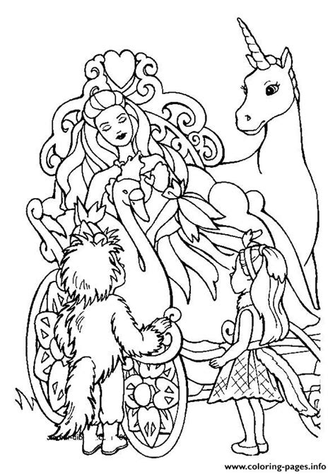 coloring pages unicorn princess the barbie and the unicorn princess coloring pages printable