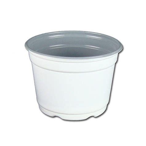 white pot 5 quot gloss white flower pot