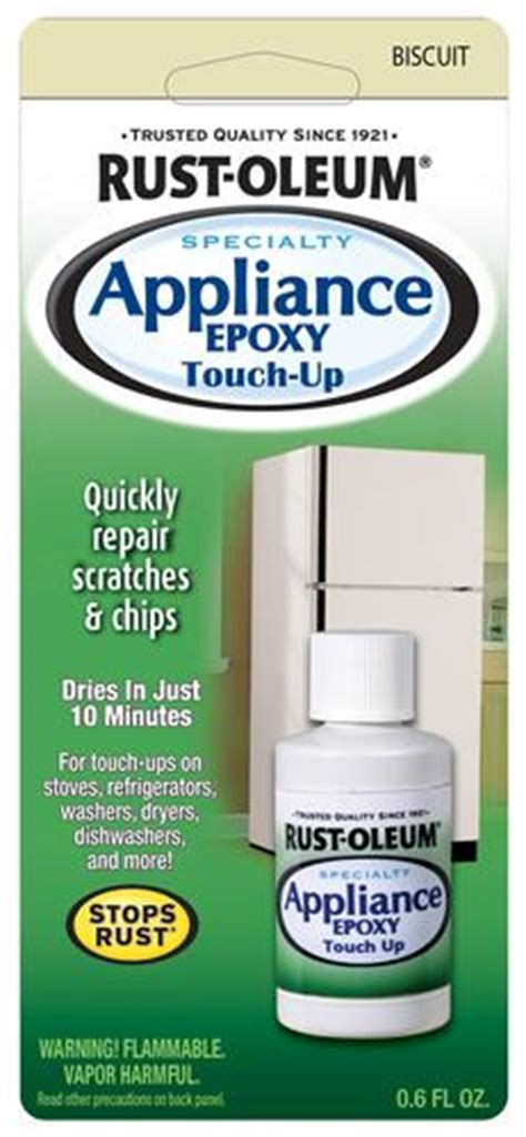 rust oleum 174 specialty biscuit appliance epoxy touch up 0 6 oz
