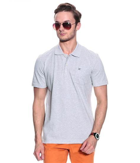 mens polo uno 2a grey numero uno gray half polo t shirt buy numero uno gray