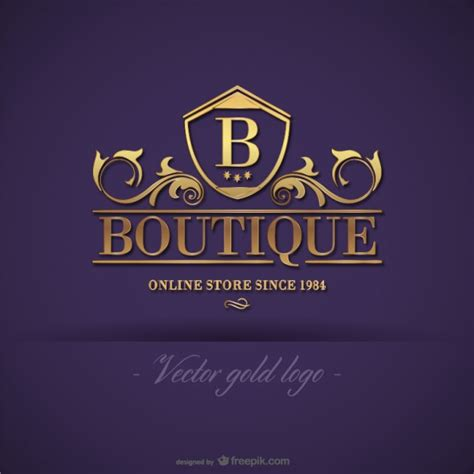 free logo design for boutique boutique vectors photos and psd files free download