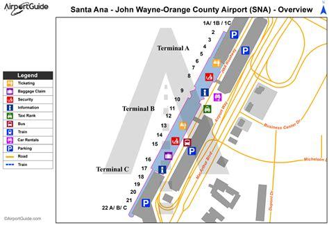 wayne airport map wayne orange county airport ksna sna airport guide