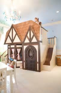 Girls dollhouse playhouse bed with slide kids las vegas by