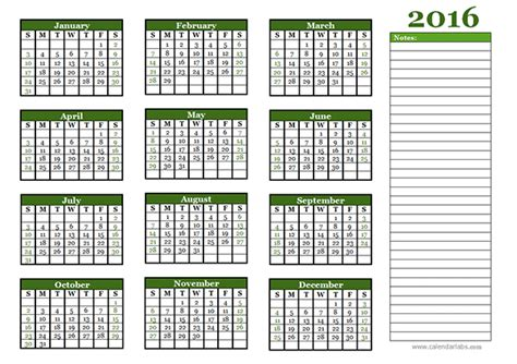 printable year planner 2016 india 2016 yearly calendar free printable templates