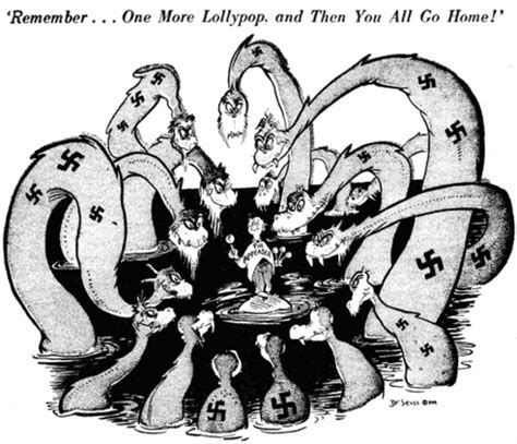 dr seuss goes to war the world war ii editorial of theodor seuss geisel posters artwork documents dr seuss goes to war