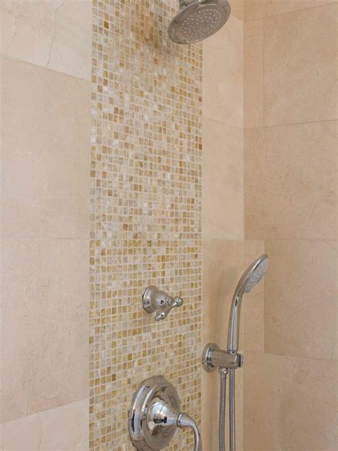 Mosaic Shower Tile by Photo Page Hgtv