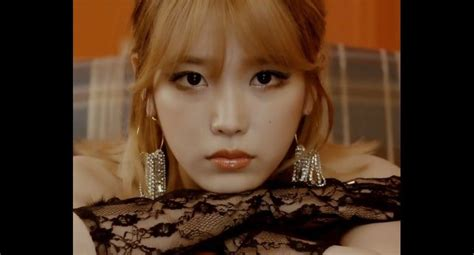 Iu Last iu it up in quot last story quot mv and gives
