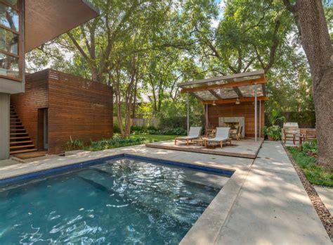 backyard beach bar dallas highland park modern garden contemporary pool dallas