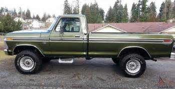 Pin 1974 ford f250 4x4 highboy 390 v 8 on 2040 cars on pinterest