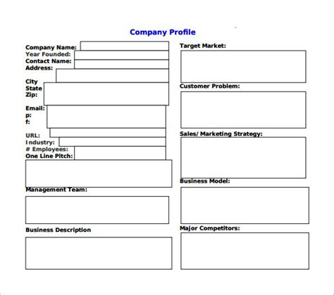 free business plans templates downloads sle business plan 6 documents in pdf word