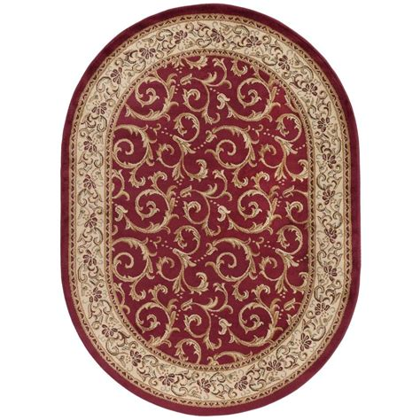 oval rugs 5x8 tayse rugs elegance 5 ft 3 in x 7 ft 3 in oval indoor area rug 5400 5x8 oval the