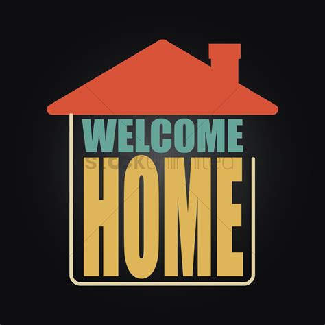 home wallpaper vector image  stockunlimited