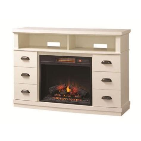 Home Decorators Collection Canton Park 48 In Corner Media Corner Electric Fireplaces Home Depot