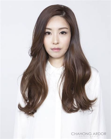 korean perm women 1 차홍 itsuka bold wave hair pinterest perm hair
