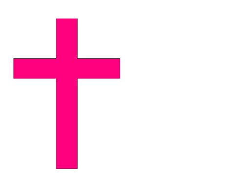 complementary of pink pink cross clip art free clipart best