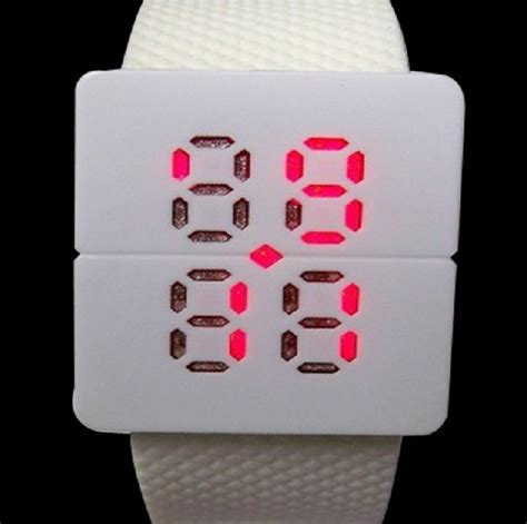 Jam Tangan Led Sport Aa W027 led watches aa w024 white jakartanotebook