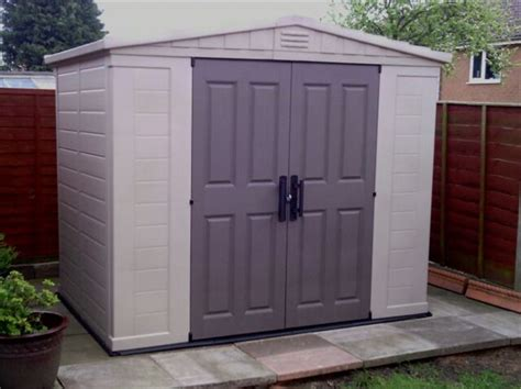 8 X 6 Plastic Garden Shed by Page Not Found Garden Buildings Direct