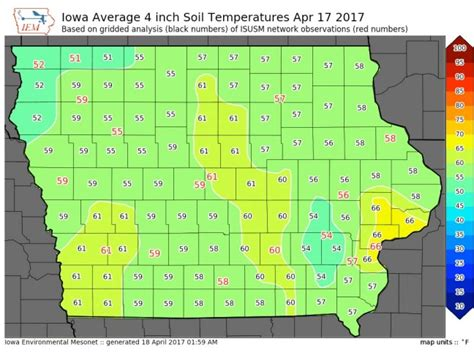 iowa state soil temperature map media advisory iowa state agriculture experts available