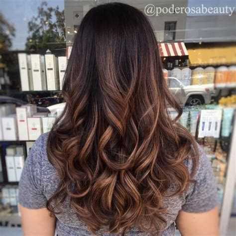 dark brown hair with light brown highlights 40 of the best bronde hair options