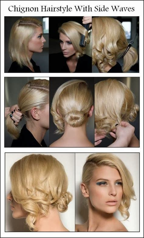 easy updos for short hair step by step 12 beautiful fashionable step by step hairstyle