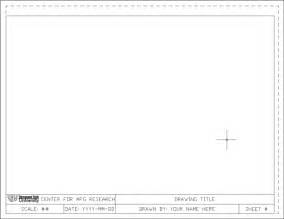technical drawing templates drawing templates ttu cae network