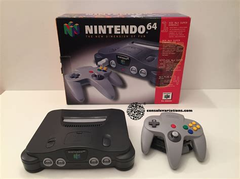 nintendo 64 console nintendo 64 console variations the database for all