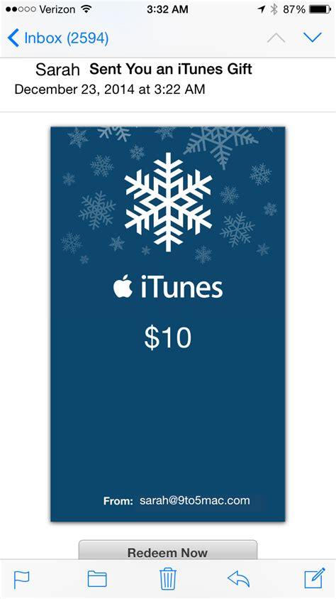 How To Buy Using Itunes Gift Card - how to give an itunes gift card using siri on an ios device 9to5mac
