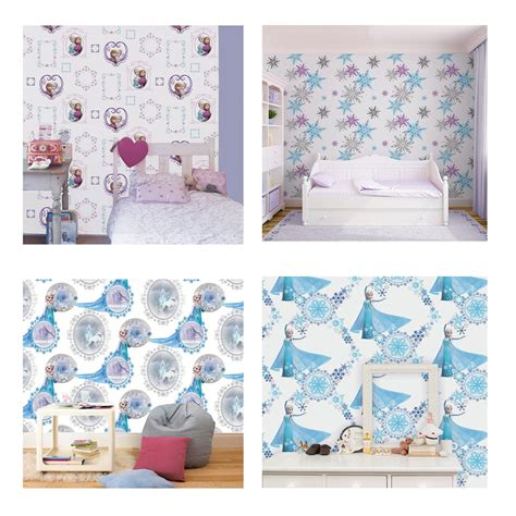 frozen wallpaper on ebay disney frozen wallpaper borders stickers brand new