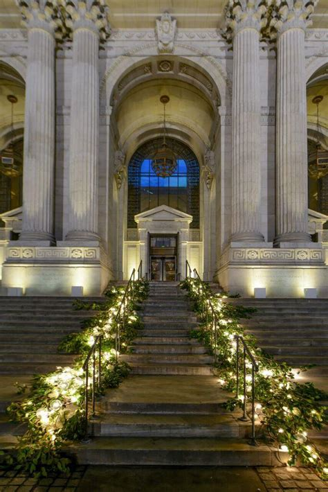 new york library wedding venue cost new york wedding library transformed into garden